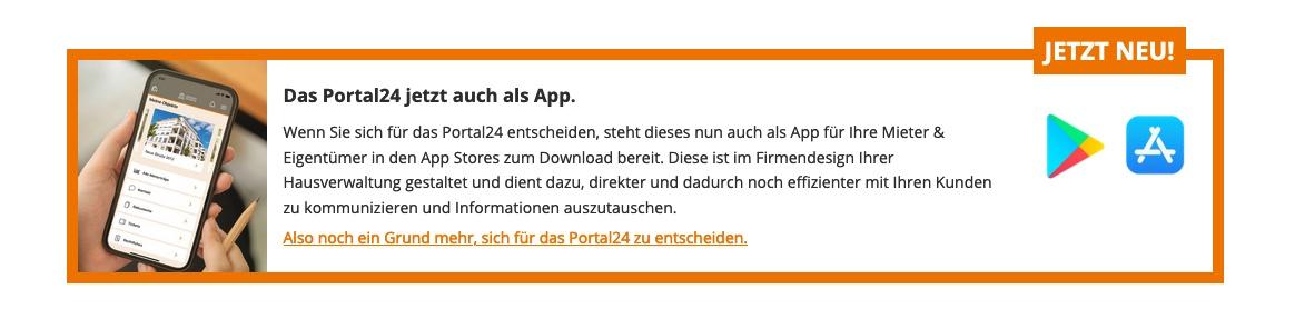 Portal 24 im App Store